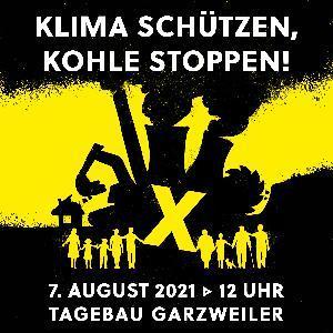 """""""Klima schützen – Kohle stoppen – Dörfer retten"""""""